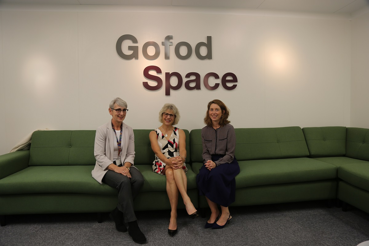 Gofod Space Opening St Asaph