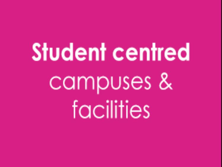 Campus 2025 student centered facilities