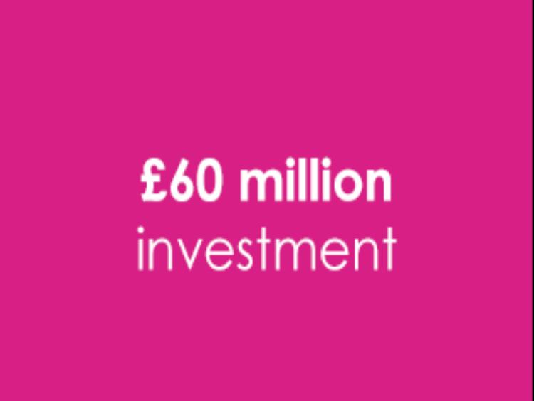 Campus 2025 £60 million investment