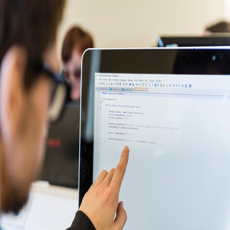 Looking at code