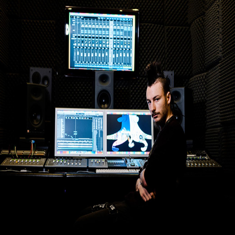 sound tech student