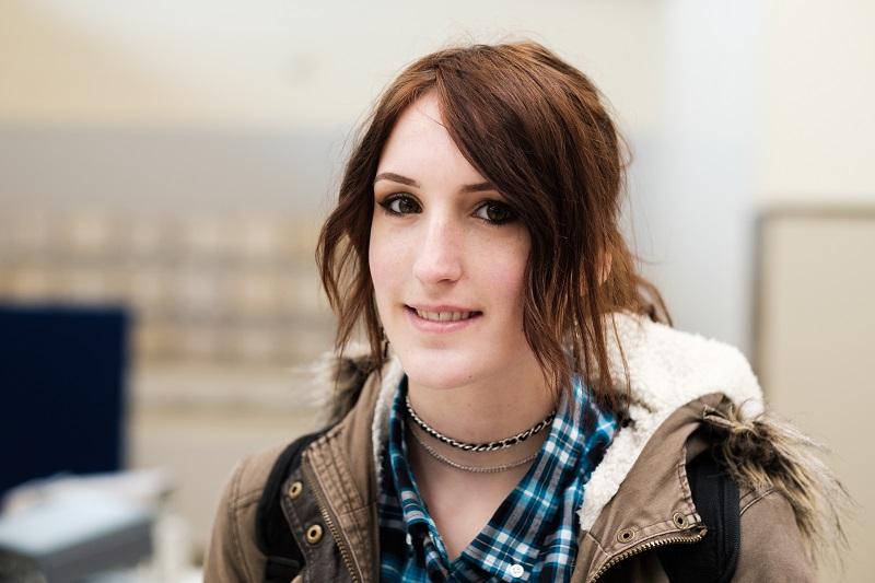 Geena, engineering student