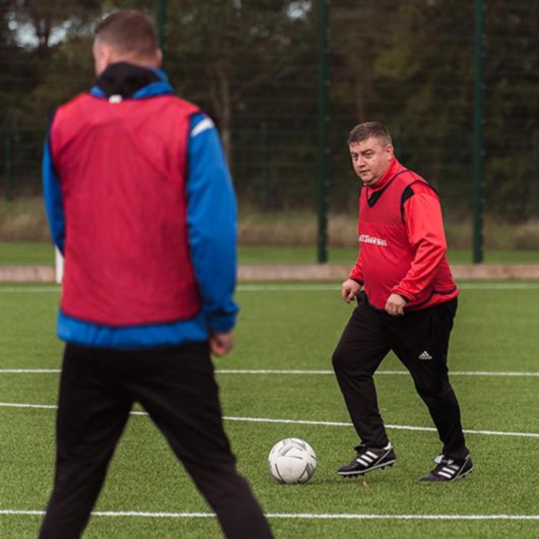 Football coaching students
