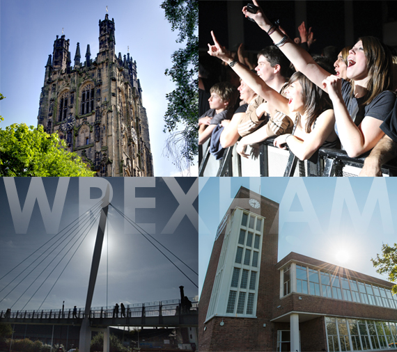 Discover what's great about choosing to study in Wrexham & NE Wales